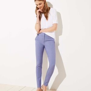 Skinny Houndstooth Ankle Pants in Marisa Fit